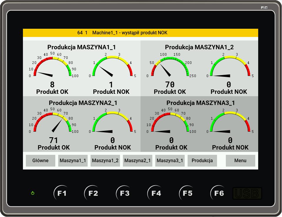 programowanie paneli operatorskich HMI